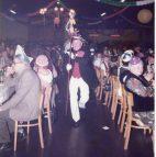 Ikone des Scheidinger Karnevals! Zeremonienmeister Bruno Oppermann führte die Akteure mehr als ein Jahrzehnt zur Bühne! Hier ist das 1981 der Fall!