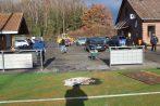 Pflasterarbeiten rund um den Soccerplatz 05.12.2020
