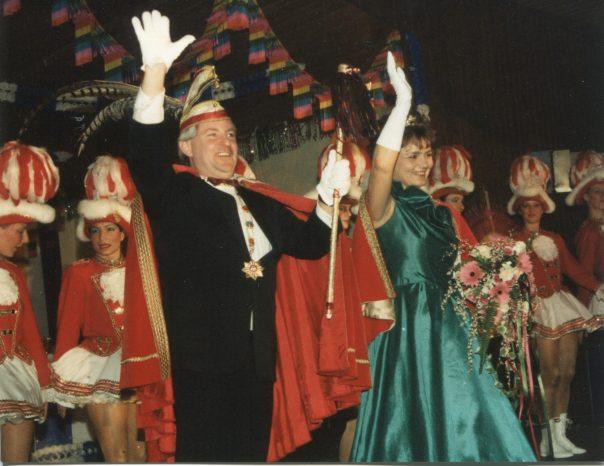 Prinz Friedhelm I. Koch und Prinzessin Mechthild I. Koch ging es 1991 ähnlich