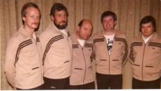 Neue Trainingsanzüge für den Jugendvorstand 1978