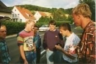 Anreise! Michael Körner, Schwede Berz, Dieter Raneck, Thomas Vickermann, Thomas Kree, Lutz Drude