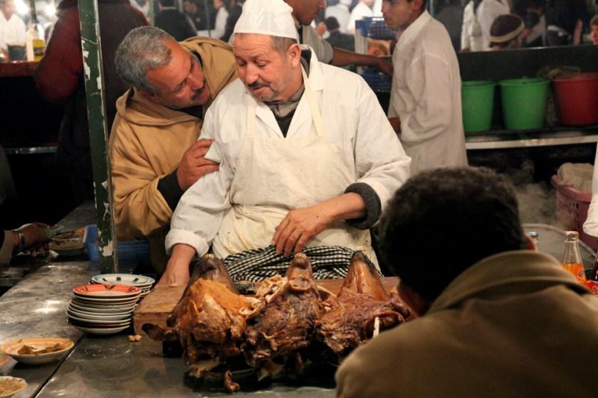 Djeema el fna kulinarisch Marrakesch Marrakech Fotograf photographer Frankfurt
