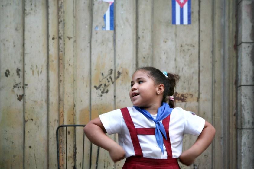 Kuba Havanna Habana Fotograf Pionier Schulkinder Schule-3