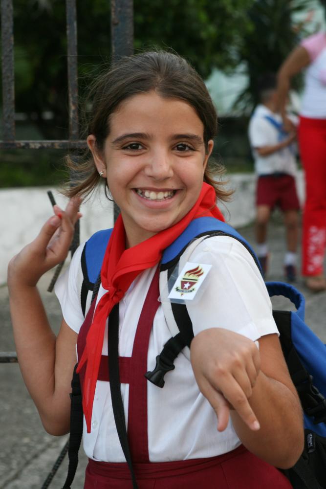 Kuba Havanna Habana Fotograf Pionier Schulkinder Schule-7
