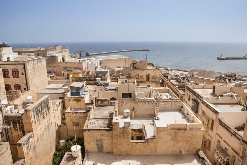 Malta Valletta Fotograf Reise Dach Vogelperspektive-3