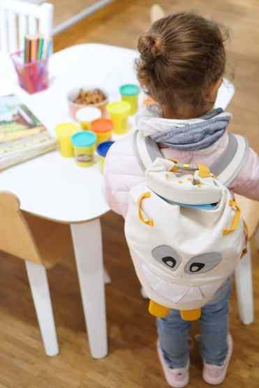 Wohnpsychologie im Kinderzimmer - Tipps für die Kinderzimmergestaltung - by SUSAMAMMA.de, Monster Affenzahn Rucksack Mädchen Kind der Stadt