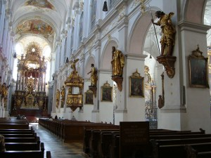 Inside Saint Peter's Cathedral