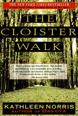 The Cloister Walk book cover for Autumn Readying post by Susan Gaddis