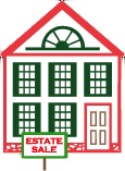 Estate Sale house logo