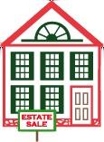 Estate Sale house logo