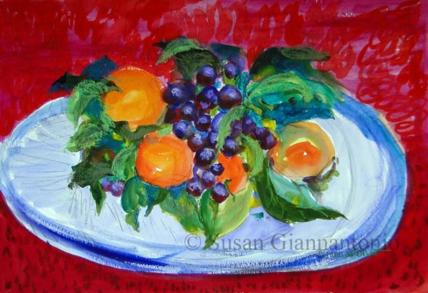 Bonnard Fruitbowl