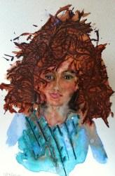"Flossie Foyble, 9 x 6"" sketch"