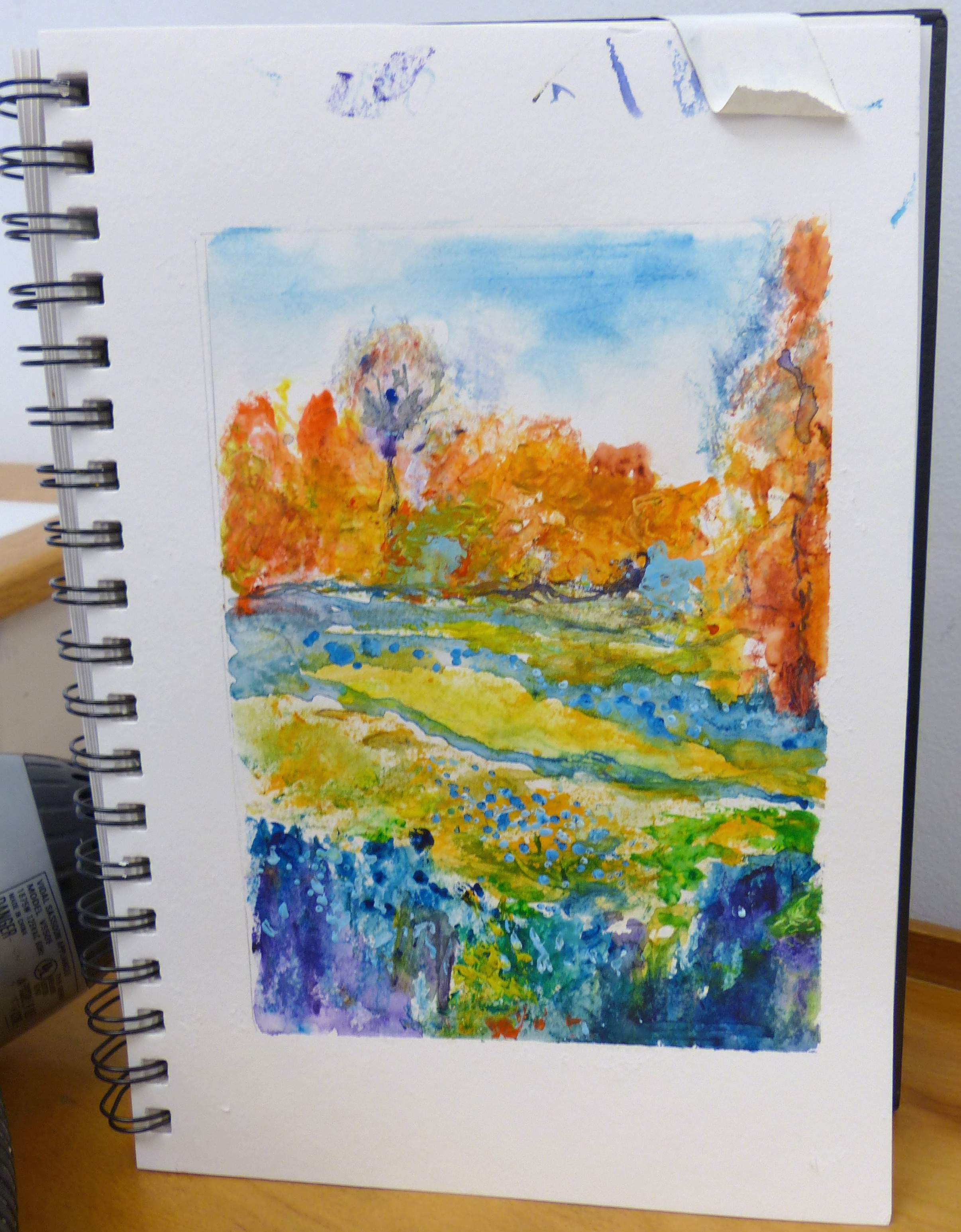 Watercolor art society houston tx - Impressionism Class At Was H Was Great Fun Susan Giannantonio Artist