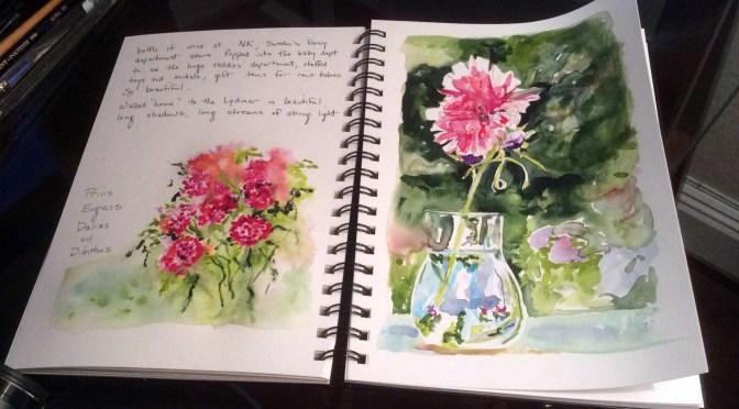 December Studio Classes: Set a Sketchbook Habit!