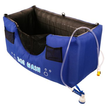 Portable & Inflatable Dog Bathing Station, Maze Pets