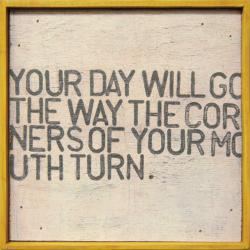 "Little Art Prints ""Your Day Will Go"", Cottage Coastal"
