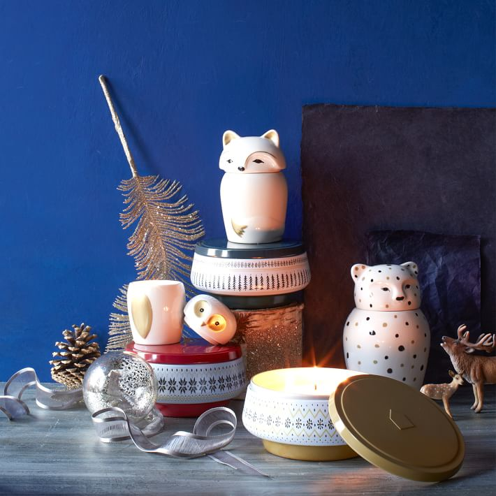Animal Doll Candles, West Elm