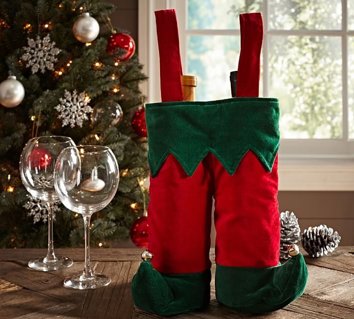 Elf Pants Wine Bag, Pottery Barn