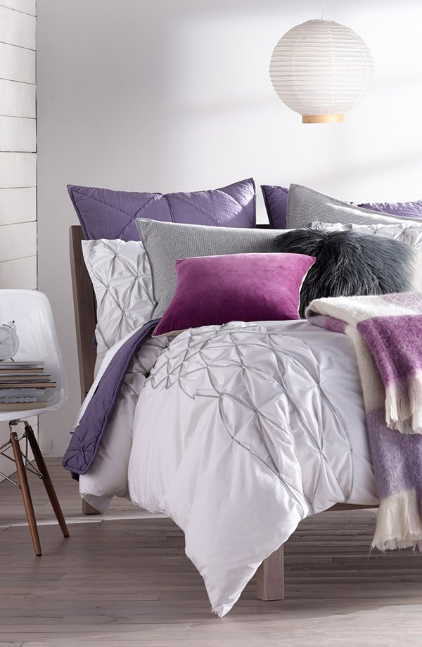 Nordstrom at Home 'Emilia' & 'Woven Plaid' Bedding Collection
