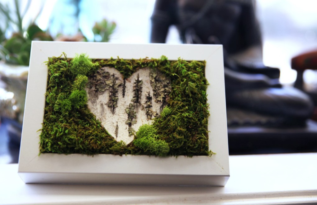 Handcrafted Botanical Wall Art- Artisan Moss
