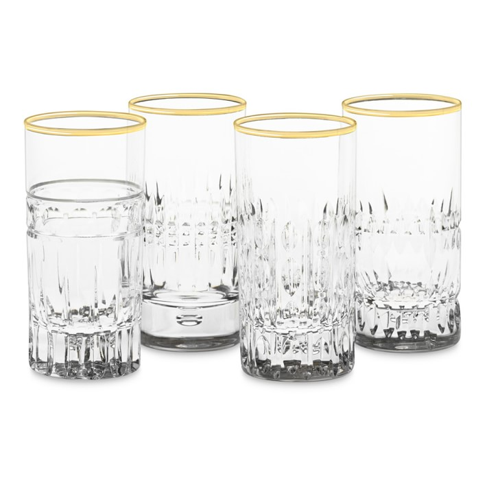 Mixed Vintage Shot Glasses- Williams Sonoma