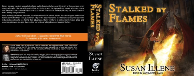 Stalked by Flames audio CD cover