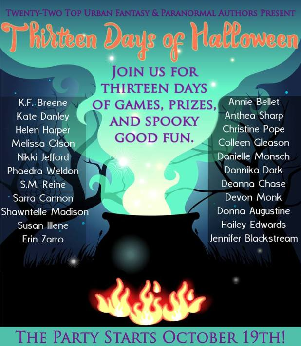 13 Days of Halloween poster