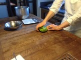 making lovage pasta