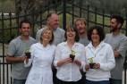 Agim, Raffa, Cornel, Simona, Cristiano, Veruska, Simone. Our dream team!
