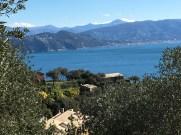 The Golf of Tigullio from the Monte Portofino.