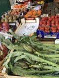 Such an assortment of gorgeous local fruit and vegetables in the markets.