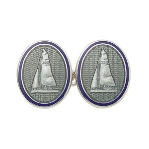 Yachting cufflinks