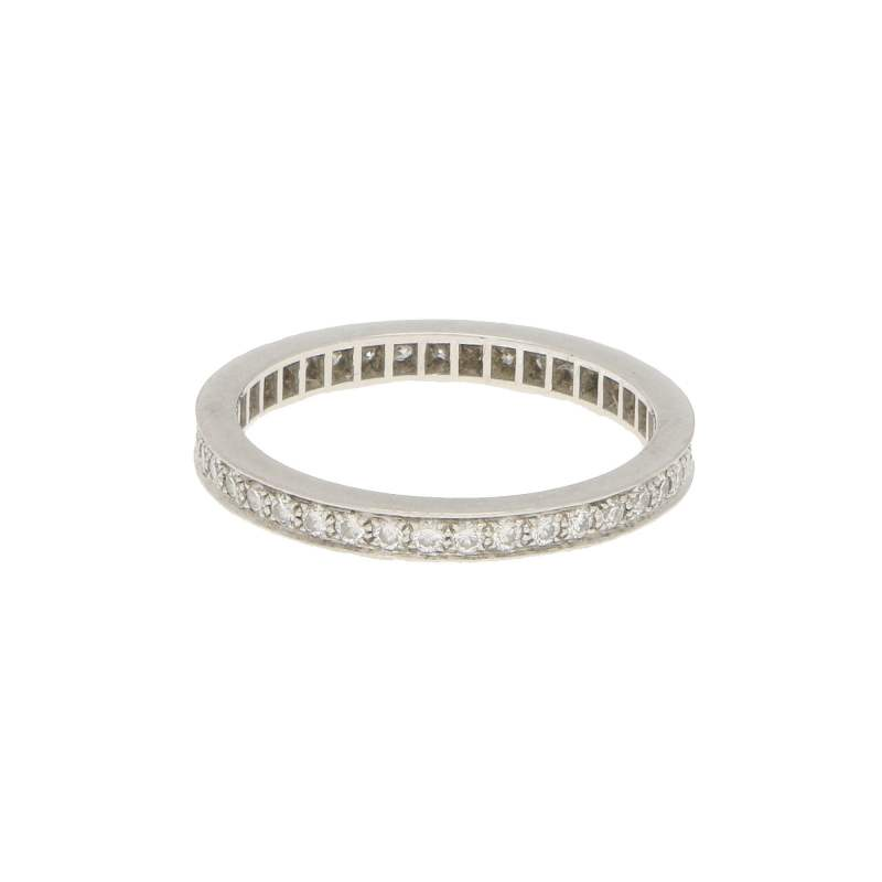 Vintage Van Cleef & Arpels Romance Full Eternity Ring
