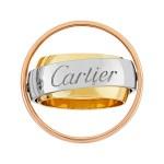 Cartier Mast Essence Trinity Ring Size 51