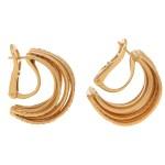 De Grisogono Allegra Diamond Multi Row Earrings