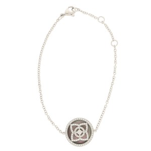 De Beers Diamond and Black Mother-of-Pearl Enchanted Lotus