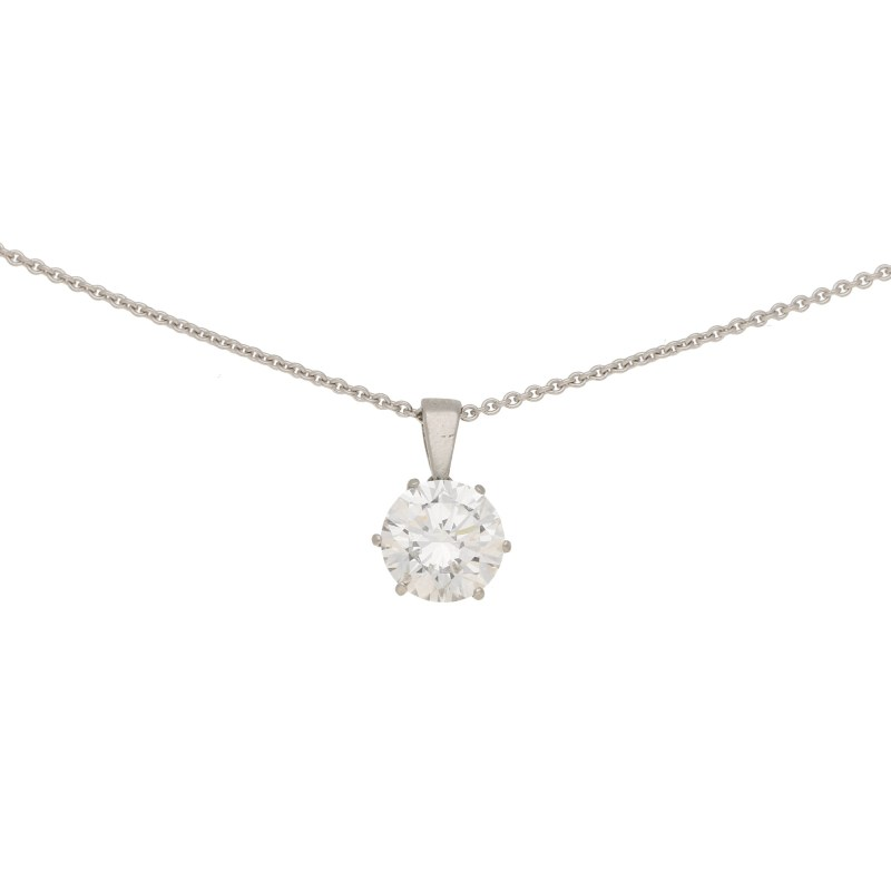 1.88ct Solitaire Diamond Pendant
