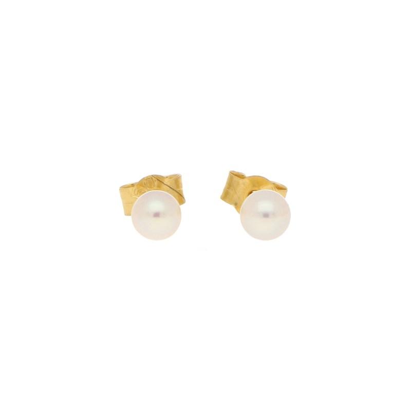 4-4.5mm Cultured Pearl Stud Earrings