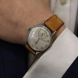 Vintage Omega Teddington wrist watch