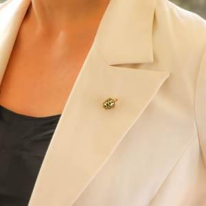 Boucheron Green Enamel Turtle Brooch