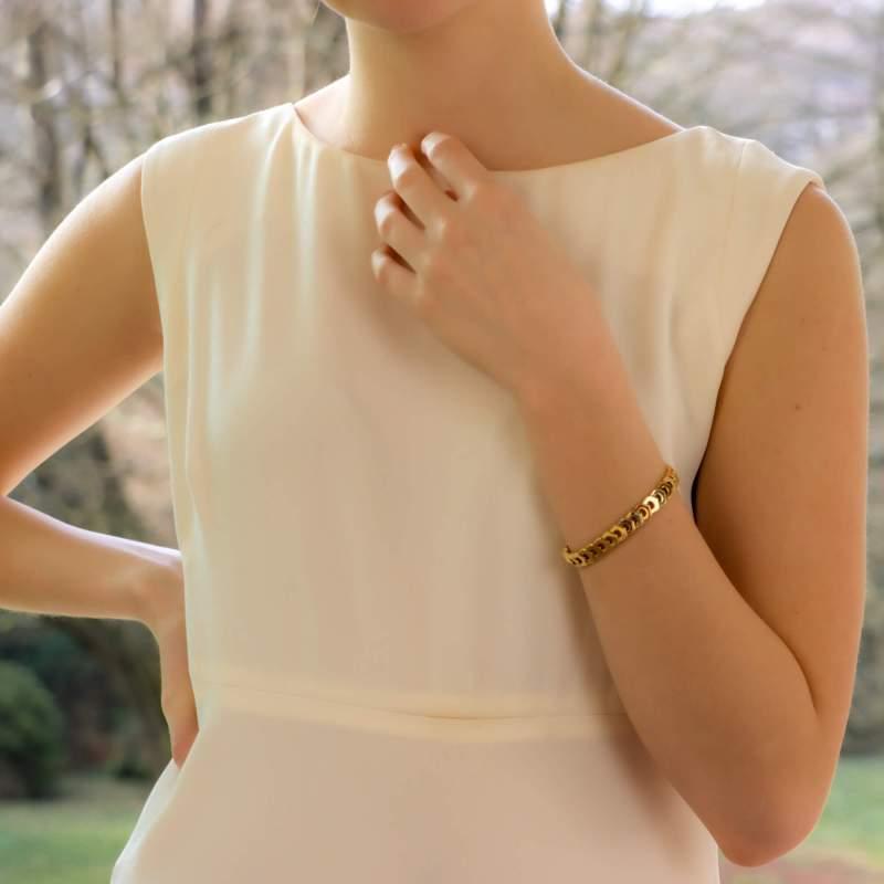 Vintage Cartier 'C de Cartier' Link Bracelet