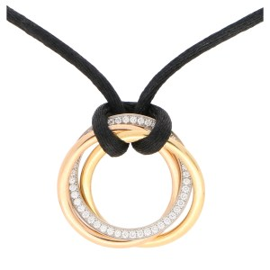 Cartier Medium Diamond Trinity Necklace