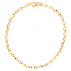 Fine Chain Link Bracelet in Yellow Gold