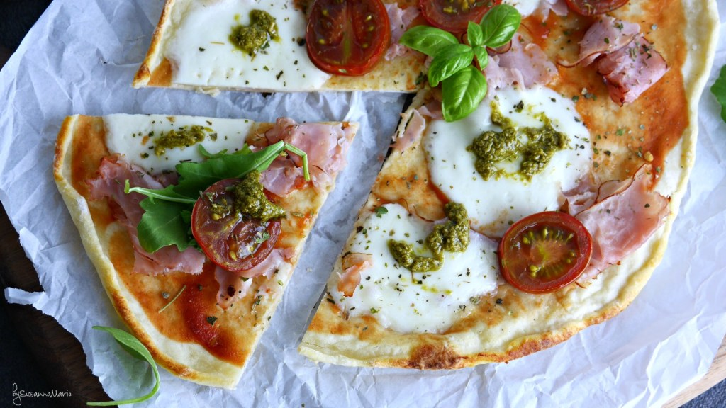 pizzaHigh Protein Healthy Pizza