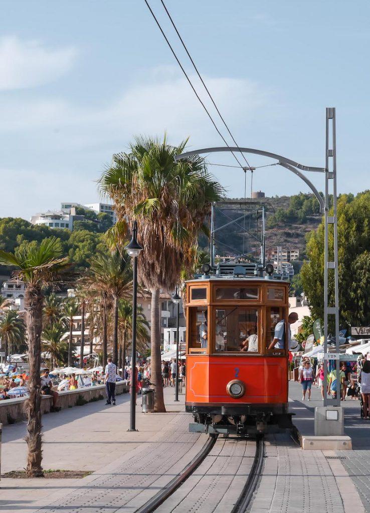 Port de Sóller Straßenbahn Mallorca