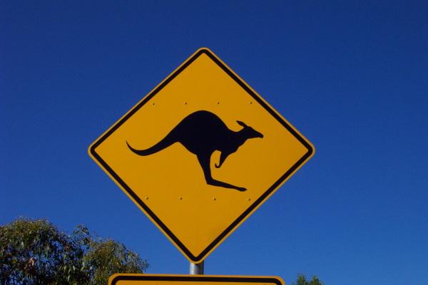 Australische Roadsigns