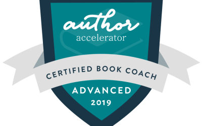 It's official: I'm an Advanced Certified Book Coach!