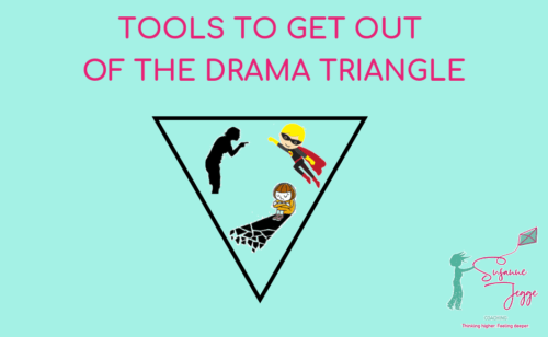 Tools to get out of the Drama Triangle