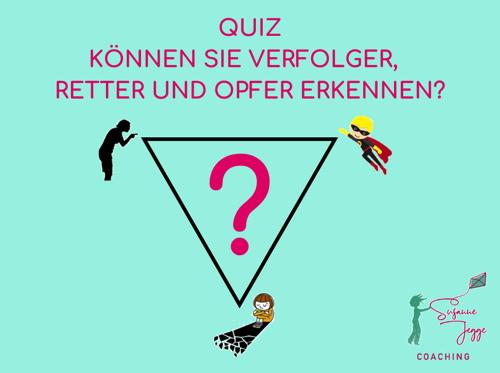 Quiz über das Drama-Dreieck