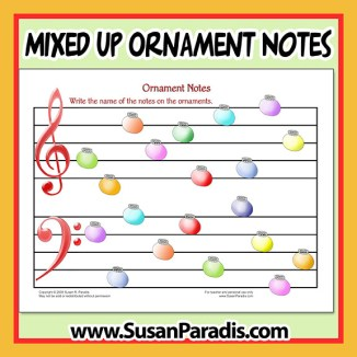 Mixed Up Notes